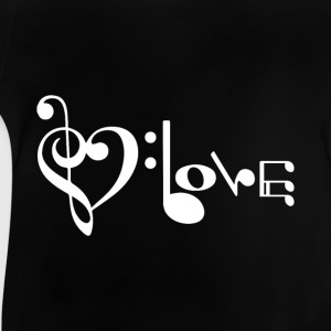 Music LOVE Shirts - Baby T-Shirt