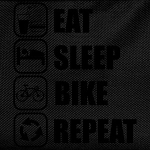 Rat,sleep,bike,repeat, Fahrrad t-shirt  - Kinder Rucksack