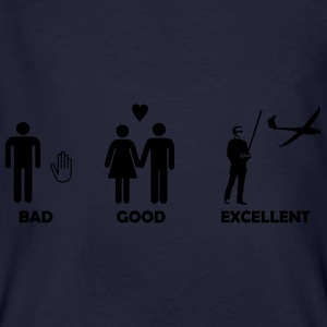 bad good excellent modellfliegen Pullover & Hoodie - Männer Bio-T-Shirt