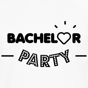 Bachelor party T-shirts - Herre premium T-shirt med lange ærmer