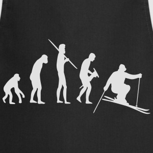 Skiing Evolution Tee shirts - Tablier de cuisine