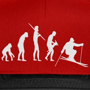 Skiing Evolution Tee shirts - Casquette snapback