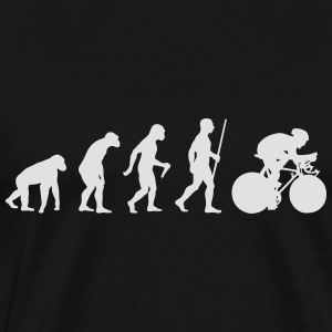 Cyclist Evolution - Männer Premium T-Shirt