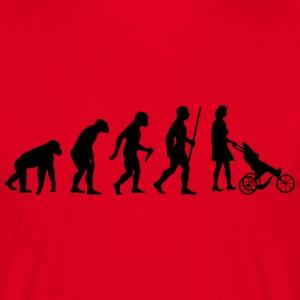Mama Evolution - Männer T-Shirt
