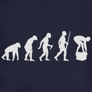 Swimming Evolution - Männer Bio-T-Shirt