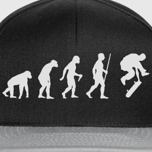 Skateboarder Evolution Tee shirts - Casquette snapback