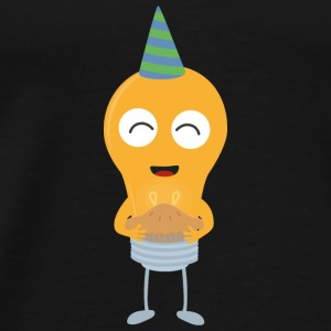 Party light bulb with cake S91o5 Baby Long Sleeve Shirts - Men's Premium T-Shirt