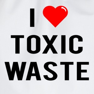 I Love Toxic Waste (Real Genius) - T-Shirt - Drawstring Bag