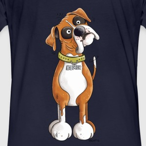 Funny German Boxer Hoodies & Sweatshirts - Men's Organic T-shirt