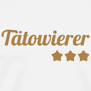 Tatoueur / Tatouage / Tattoo / Tattooist Tabliers - T-shirt Premium Homme