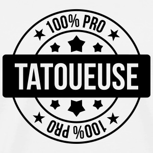 tatovøren / tatovering / Tattoo / Tattooist Forklær - Premium T-skjorte for menn