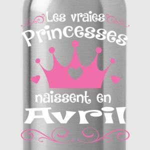 Avril - Princess - Anniversaire - 1 Sweat-shirts - Gourde