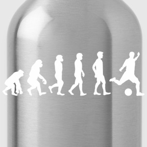 Evolution Fussball T-Shirts - Trinkflasche