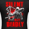 Silent But Deadly Bowhunting Bogenjagd Compound Bo T-Shirts - Frauen T-Shirt
