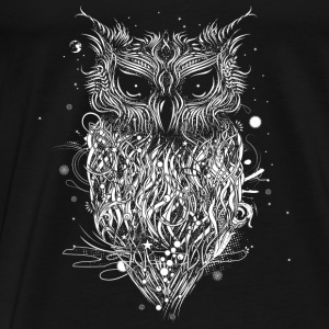 Mysterious owl Baby Long Sleeve Shirts - Men's Premium T-Shirt