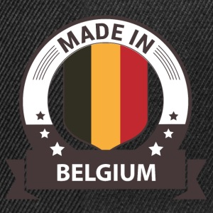 Made in Belgium- Belgien T-Shirts - Snapback Cap
