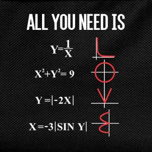 ALL YOU NEED IS LOVE T-Shirts - Kinder Rucksack