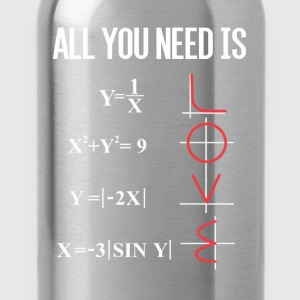 ALL YOU NEED IS LOVE T-Shirts - Trinkflasche