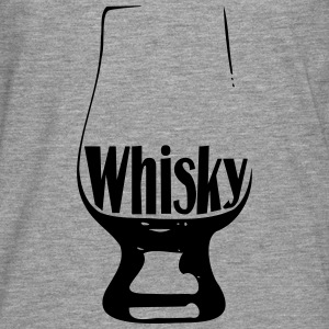 Whisky glass - T-shirt manches longues Premium Homme