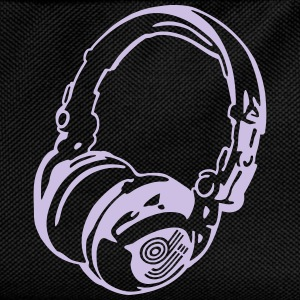 DJ Headphones for Dark Shirts - Kinder Rucksack