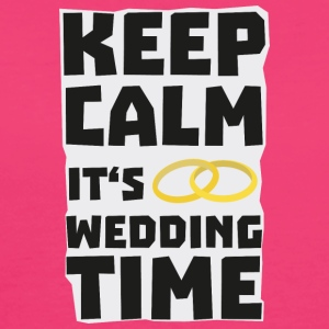 wedding time keep calm Sw8cz Väskor & ryggsäckar - Ekologisk T-shirt dam