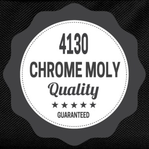 4130 Chrome Moly Quality BMX  T-Shirts - Kinder Rucksack