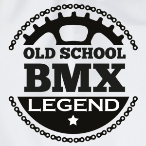 Old School BMX Legend Baby Langarmshirts - Turnbeutel