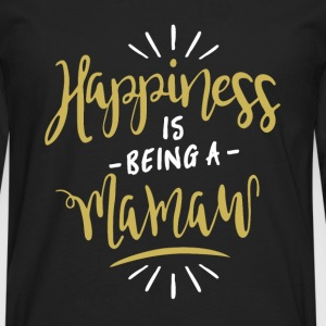 Happy Mamaw Shirt - Men's Premium Longsleeve Shirt