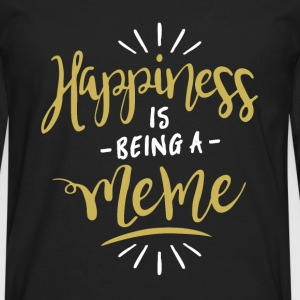 Happy Meme Shirt - Men's Premium Longsleeve Shirt