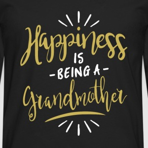 Happy Grandmother Shirt - Men's Premium Longsleeve Shirt