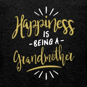 Happy Grandmother Shirt - Men's Premium Tank Top
