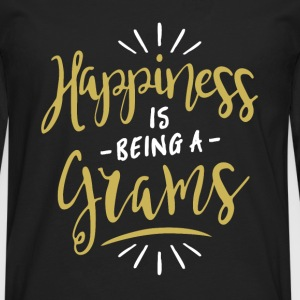 Happy Grams Shirt - Men's Premium Longsleeve Shirt