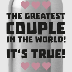 Worlds greatest couple S8r93 Shirts - Drinkfles