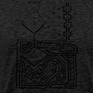 PowerLines 1 T-shirts - Premium-T-shirt herr