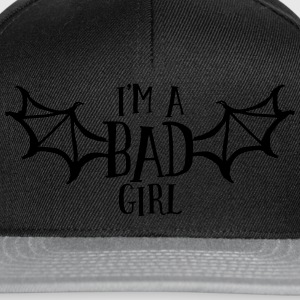 im a bad girl i T-Shirts - Snapback Cap