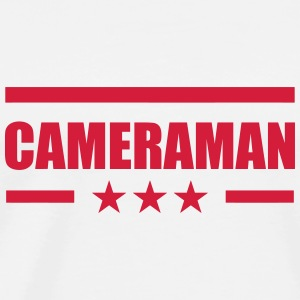 Cameraman / Camera / Video / Cadreur Bodys Bébés - T-shirt Premium Homme