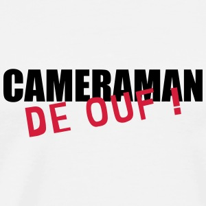 Cameraman / Camera / cameravrouw / video Baby body - Mannen Premium T-shirt