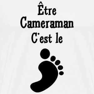 Cameraman / Camera / Video / Cadreur Tabliers - T-shirt Premium Homme