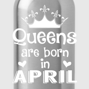 April - Queen - Birthday - 1 Tröjor - Vattenflaska