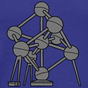 Atomium Brussels 2 Bags & Backpacks - Men's Premium T-Shirt
