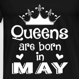 May - Queen - Birthday - 1 Sudaderas - Camiseta premium hombre