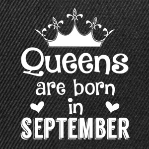 September - Queen - Birthday - 1 Tröjor - Snapbackkeps