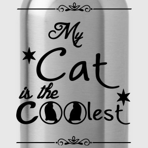 Coolest Cat T-Shirts - Trinkflasche