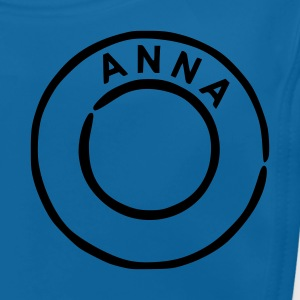 Royal blue Anna Kids' Shirts - Baby Organic Bib