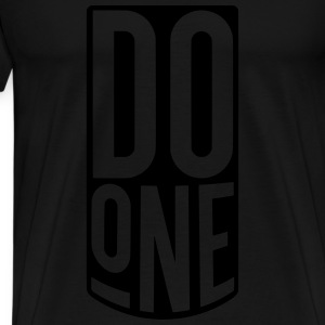 Do One, Mancunian Slang Tops - Men's Premium T-Shirt