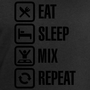 Eat Sleep Mix repeat T-Shirts - Men's Sweatshirt by Stanley & Stella