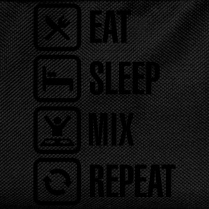Eat Sleep Mix repeat T-shirts - Rugzak voor kinderen