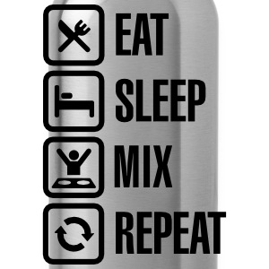 Eat Sleep Mix repeat T-shirts - Drinkfles