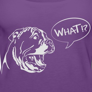 WHAT - English Bulldog Puppy - Frauen Premium Tank Top