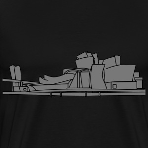 Guggenheim Museum of Bilbao 2 Hoodies & Sweatshirts - Men's Premium T-Shirt